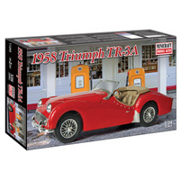 Minicraft 1/24 scale 1958 Triumph TR-3A plastic model kit
