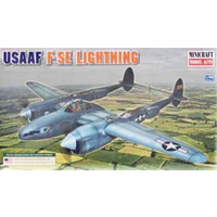Minicraft 1/48 USAAF F-5E Lightning Plastic Model Kits