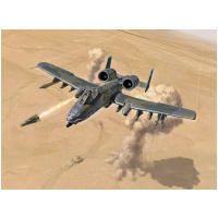 Italeri 1/72 A-10 A/C Thunderbolt II Plastic Model Kit