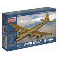 Minicraft 1/144 USAAF B-29A Plastic Model Kit