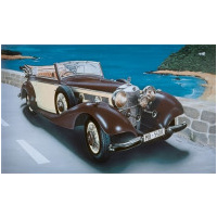 Italeri 1/24 Mercedes Benz 540K Plastic Model Kit