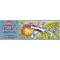 Guillow's T-28D Trojan Balsa Model Plane Kit