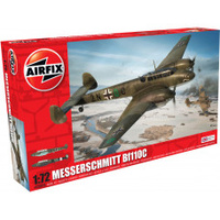 Airfix 1/72 Messerschmitt Bf110C Plastic Model Kit