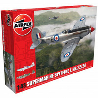 Airfix 1/48 Supermarine Spitfire F. Mk.22/24 Plastic Model Kit