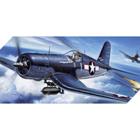 ACADEMY 12457 1/72 F4U-1 CORSAIR PLASTIC MODEL KIT