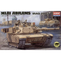 "Academy 13202 1/35 M1A1 Abrams ""Iraq 2003"" Plastic Model Kit *Aus Decals*"