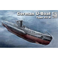 AFV Club SE73502 1/350 German U-Boat Type VII/B