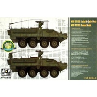 AFV Club 1/35 M1130 Stryker Command Vehicle Plastic Model Kit