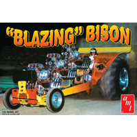 "AMT 1/25 The ""Blazing"" Bison Plastic Model Kit"