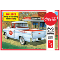 "AMT 1/25 '55 Chevrolet ""Cameo"" Pick up Plastic Model Kit"