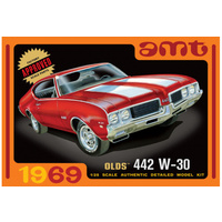 AMT 1/25 1969 Oldsmobile 442 w-30 Plastic Model Kit