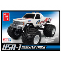AMT 1/32 USA-1 Monster Truck Plastic Kit