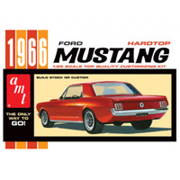 AMT 1966 Ford Mustang Hardtop 1/25 Plastic Model Kit