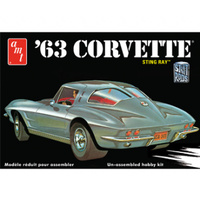 AMT 1/25 '63 Corvette Stingray Plastic Model Kit