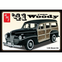 AMT 1/25 1941 Ford Custom Woody