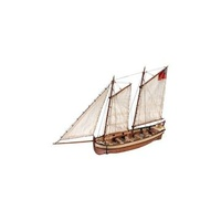 ARTESANIA 19015 1/50 HMS ENDEAVOUR'S CAPTAIN LONGBOAT WOODEN SHIP MODEL