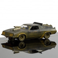 SCALEXTRIC FORD XB MODIFIED FALCON - MATTE BLACK