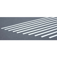 STYRENE STRIPS .020 X .125 IN (10)