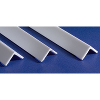 PLASTIC ANGLE .100(2.5 mm) (4) 35cm Long
