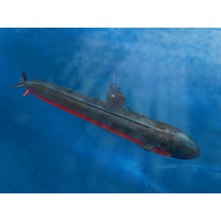 Hobby Boss 1/350 Los Angeles Class SSN-688/VLS/6881, 3in1, Plastic Model Kit