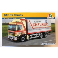 Italeri 1/24 DAF 95 Canvas Truck Plastic Model Kit