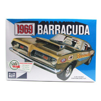 MPC 1/25 1969 Plymoth Barracuda Customizing Plastic Model Kit