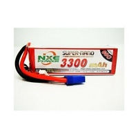 NXE 3300mah 60c 22.2V Soft case Lipo with EC5