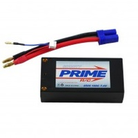 Prime RC 7.4v 4500mah 100c 2 Cell Shorty Lipo Battery