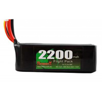 Redback Racing 11.1v 2200mah 30c 3cell Lipo Battery
