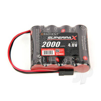 Radient Supermpax Battery AA 4.8v, 4cell 2000mah NiMh