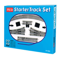 Peco Model Railway Starter Track set HO/OO