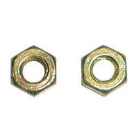 SULLIVAN S490 4/40 STEEL HEX NUTS (12 PCS.)
