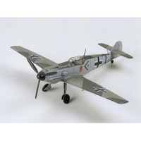 Tamiya 1/72 Messerschmitt Bf109 E-3, Plastic Model Kit