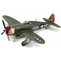 "1/72 Tamiya Republic P-47D Thunderbolt ""Razorback"" Plastic Model Kit"