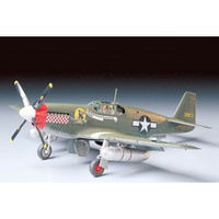 Tamiya 1/48 North American P-51B Mustang, Plastic Model Kit