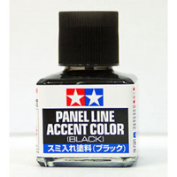 Tamiya Panel Accent Line Colour BLACK