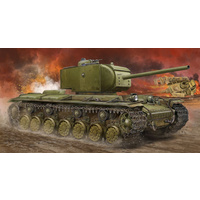1/35 KV-220 Russian Tiger Super Heavy Tank Plastic Model Kit