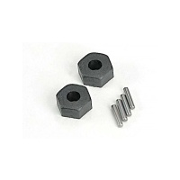 12mm Wheel hexes with axle pins