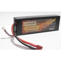 Vant Lipo Battery 5200mah 7.4v 50c ROAR approved hardcase
