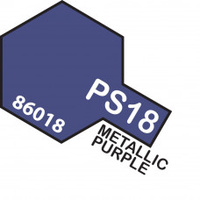 Metallic Purple PS-18 Tamiya Polycarbonate Paint