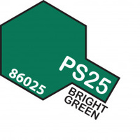 Bright Green PS-25 Tamiya Polycarbonate Paint