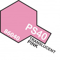 Translucent Pink PS-40 Tamiya Polycarbonate Paint