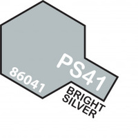 Bright Silver PS-41 Tamiya Polycarbonate Paint