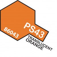 Translucent Orange PS-43 Tamiya Polycarbonate Paint