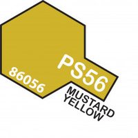 Mustard Yellow PS-56 Tamiya Polycarbonate Paint