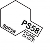 Pearl Clear PS-58 Tamiya Polycarbonate Paint