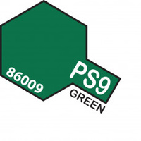 Green PS-9 Tamiya Polycarbonate Paint