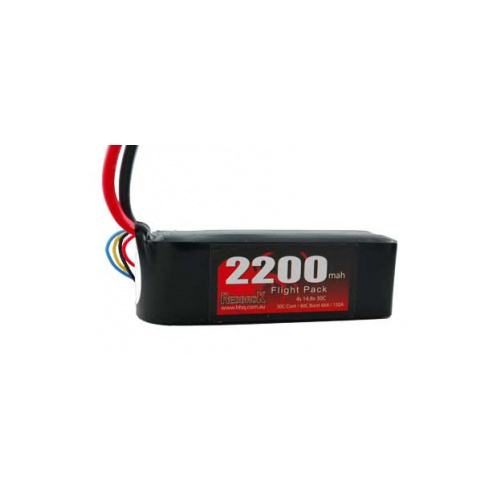Redback Racing 14.8v 2200mah 30c 4cell Lipo Battery